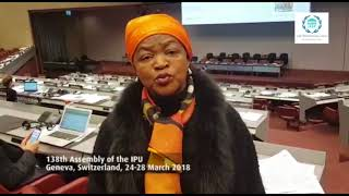 Speaker Baleka Mbete on issues of migration and refugees at the Inter-Parliamentary Union #IPU138