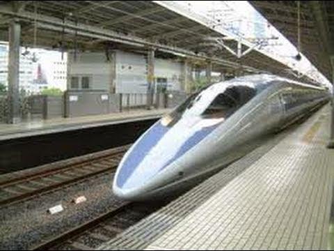 The Japanese Bullet Train: Osaka to Tokyo