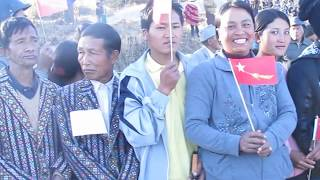 Repeat youtube video Hakha Khuami Nih Daw Aung San Suu Kyi Don Ding In An Hngah Lio(2014 January 8)