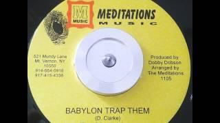 Meditations - Babylon Trap Them / Version - 7inch / Meditations