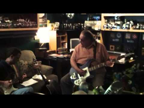 Mike McCarroll  Studio shots with Paul Goddard, Dean Daughtry and Steve Stone 2