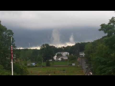 Ominous Clouds in Leominster, MA