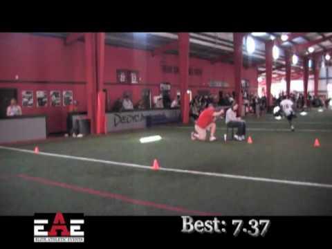 EAE Football Combine - Little Rock 3-20-10 - C Alexander - RB