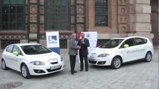 SEAT Altea XL Electric Ecomotive 2015 Videos