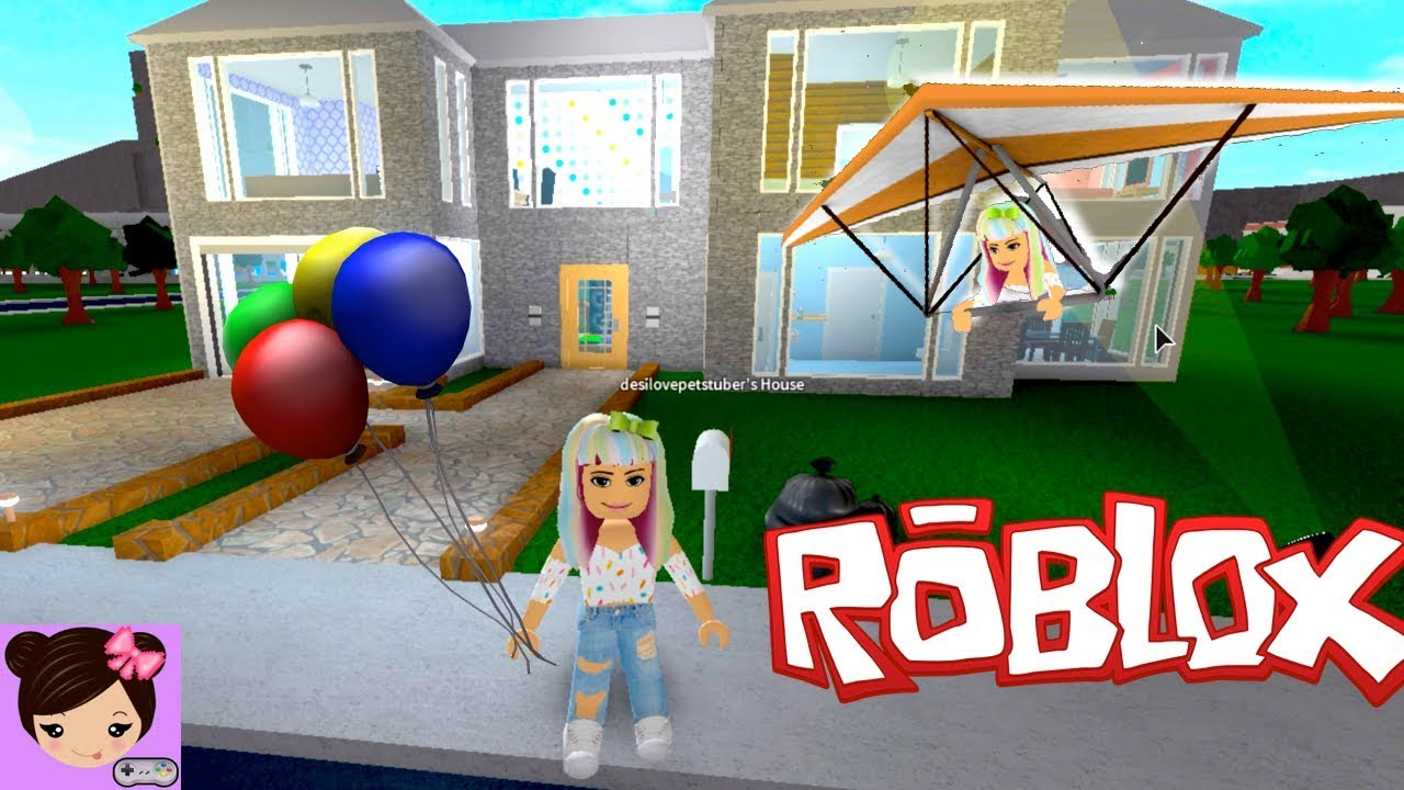 A Day in Bloxburg   House Tour  Party  Hanggliding   Roblox Roleplay     A Day in Bloxburg   House Tour  Party  Hanggliding   Roblox Roleplay Titi  Games