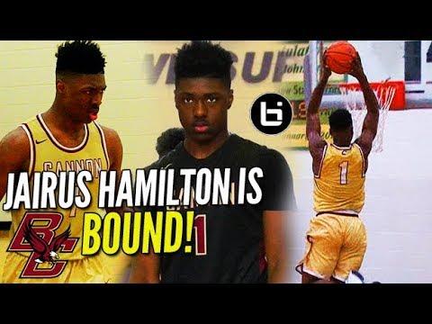 NC's BIGGEST Steal?! Jairus Hamilton is BOSTON COLLEGE Bound!