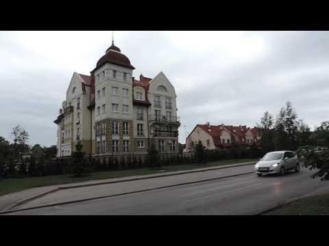 Калининград Königsberg Северная Гора Улица Герцена от госпиталя до Островского