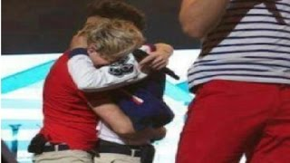 Niall Horan Crying On Stage
