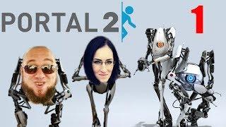 Portal 2 Co-op z Judytą #1