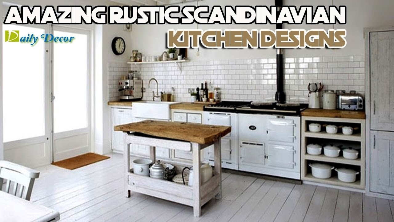 daily decor 11 amazing rustic scandinavian kitchen designs - Scandinavian Kitchen Design