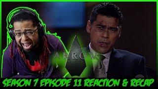 "Arrow Season 7 Episode 11 Reaction & Recap ""Past Sins"""