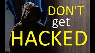 "HACKED! How to AVOID YOUR WORST NIGHTMARE. Meet ""Helpful Hacker"" Jeffery Graves."