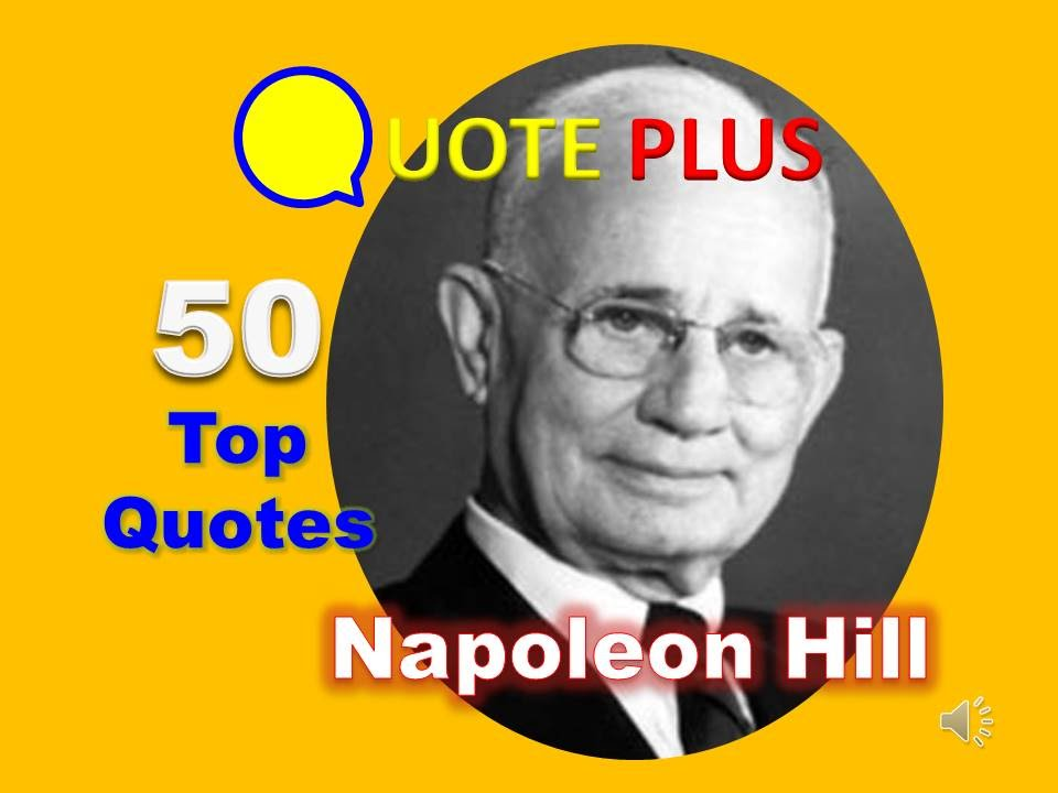 Youtube Napoleon Hill Think And Grow Rich