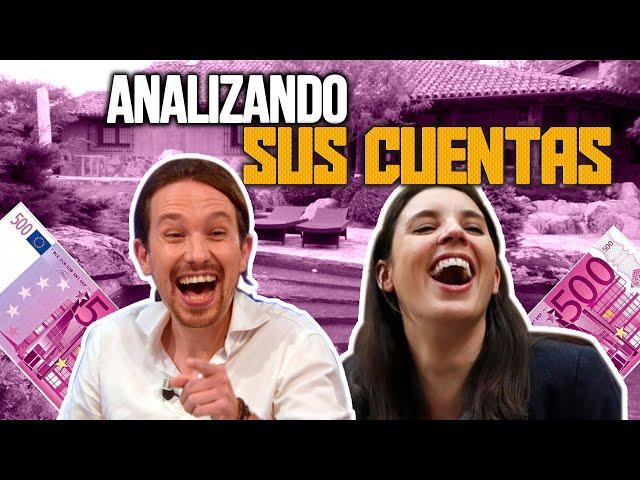 ¿Cuánto gana Pablo Iglesias e Irene Montero? ¿Cuánto gastan? ¿Ahorran?