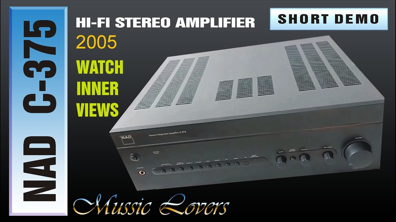 Nad C 372 Audiophile Integrated Stereo Amplifier Of 2005