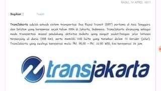 Lowongan Kerja PT. Transportasi Jakarta April 2017