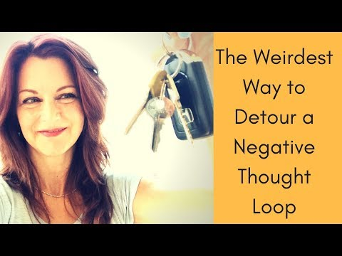 The Weirdest Way to Detour a Negative Thought Loop! - Barbara Ireland Mp3