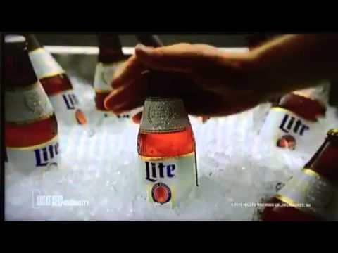miller lite s ads and commercials Man laws (men of the square table) are a series of beer commercials for miller lite, inspired by the supposed unwritten codes by which men live the men of the square table are a parody of king arthur 's knights of the round table.