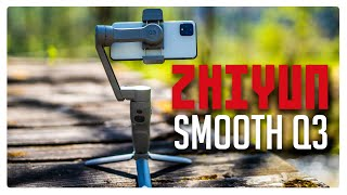ZHIYUN SMOOTH Q3! Hands on Review
