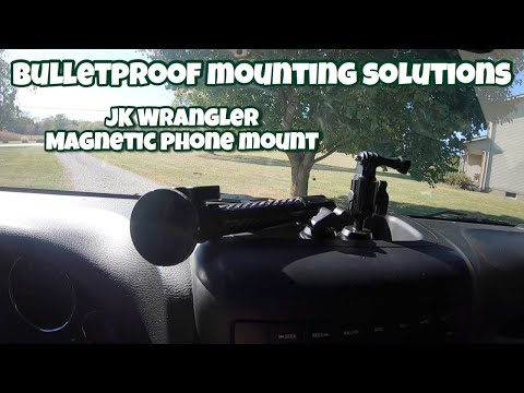 Bulletproof Mounting Solutions Phone Magnetic Dash Mount Review