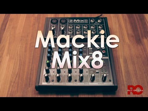 Mackie Mix8 Mixer for Podcasting
