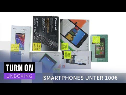 Smartphones unter 100€ - UNBOXING - 4K
