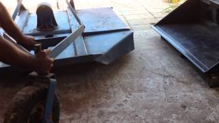5 - Ft. Rotary Cutter, 3 point hitch