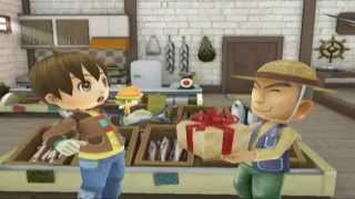 Let's Play Harvest Moon: Animal Parade 01: Welcome to Harmonica Town