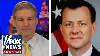 Jim Jordan: Why did DOJ hide Strzok's link to federal judge?