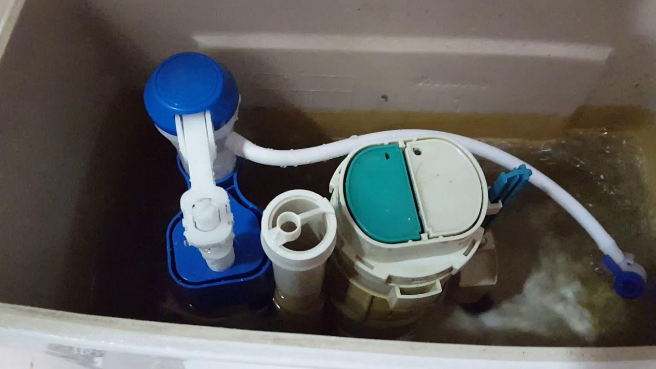 20160609 通用型免浮球馬桶進水器安裝diy不求人 Youtube