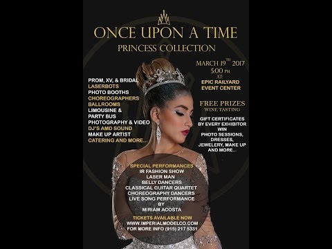 """""""Once Upon a Time"""" Runway Theatrical Show -Imperial Model Co. Part 1"""
