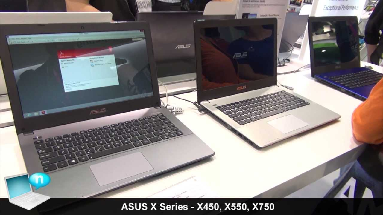 Asus X550 X450 And X750 Asus X Series 2013 Ed Youtube