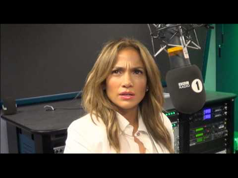 Jennifer Lopez visits Scott Mills