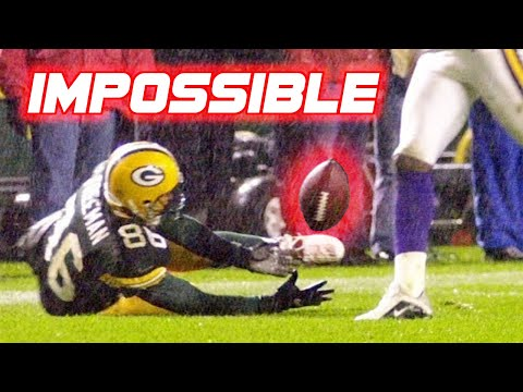 NFL '1 in a Million' Plays (Rare/Lucky Plays)