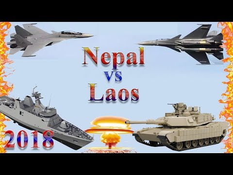 Laos vs Nepal Military Comparison 2018