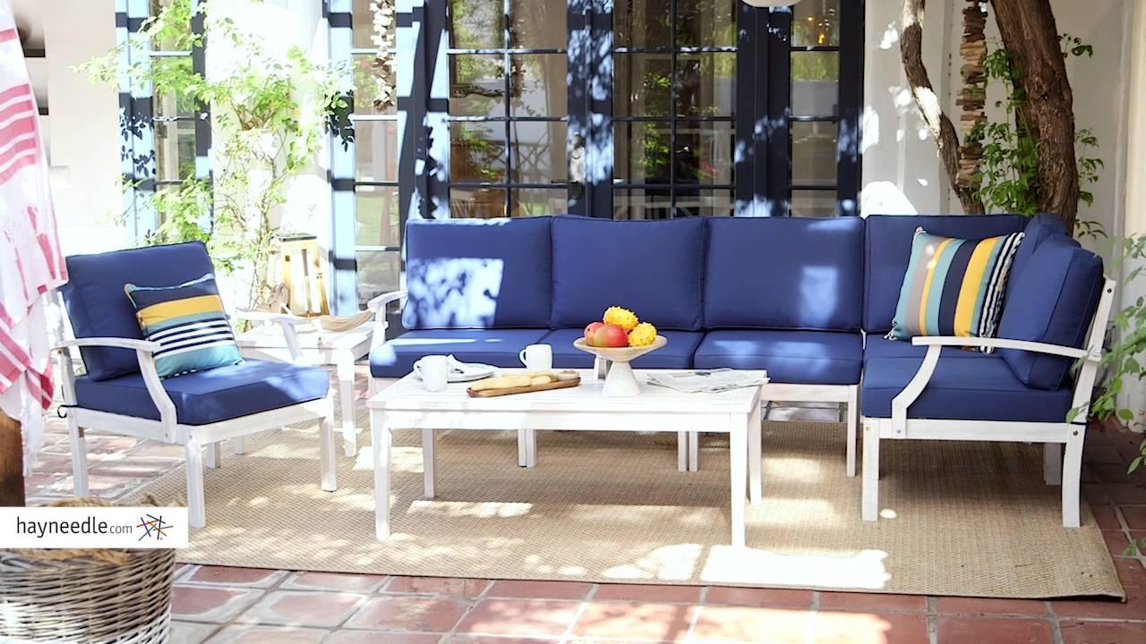 Backyard Patio Ideas: Coastal Style - YouTube on Coastal Backyard Ideas id=80442