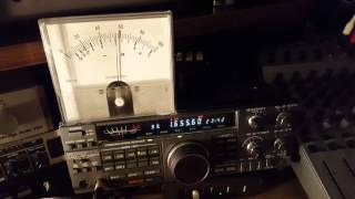 Band scan and commentary of Dutch MW pirate reception in the UK on February 5, 2016