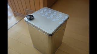 魔魚's COOK #2  激安!一斗缶燻製器