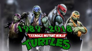 История / Эволюция Teenage Mutant Ninja Turtles ( TMNT )