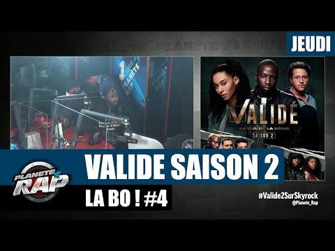 Youtube: Planète Rap –«Validé» Saison 2 avec Sam's, 100 Blaze, Graya, Elams, Dadinho… #Jeudi