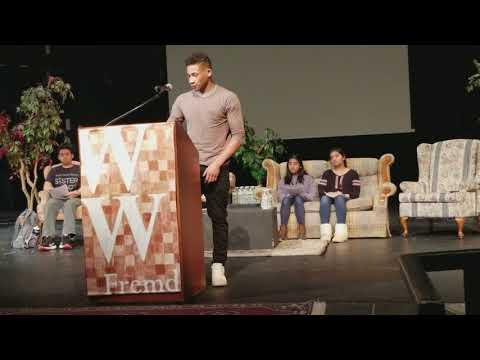 """Adam Kemp Presentation at """"Writers Week"""" Fremd High School"""