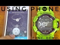 Casio 5413 G-Shock Module Tutorial | Watch set-up using smart phone & basic complications demo.