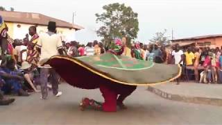 Dance of the Yoruba (Egungun)