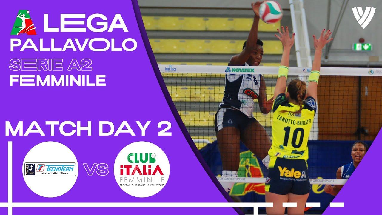 Albese vs. Club Italia - Full Match | Women's Serie A2 | 2021