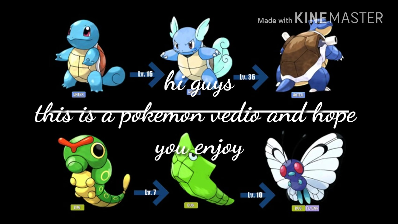 All pokemon evolution youtube - X evolution pokemon ...