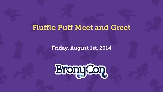 Fluffle Puff Meet and Greet