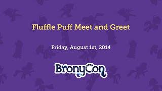 Fluffle Puff Meet and Greet