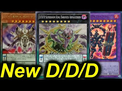 New!!! D/D/D Destiny King Zero Laplace,D/D/D Superdoom King Darkness Armageddon [Yugioh]