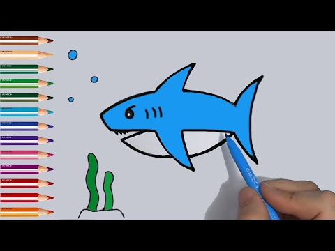 Baby Shark Classical Music and drawing Songs for Children ...