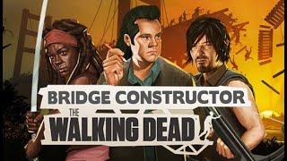 BIZARRA MISTURA: Bridge Constructor: The Walking Dead (Gameplay em Português PT-BR) #BCTWD